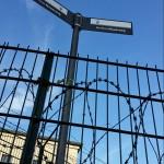 Der offizielle Berliner Mauerweg macht an dieser Stelle einen nicht unerheblichen Umweg durch den Wedding.