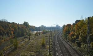 Containerbahnhof am Stadtpark Lichtenberg